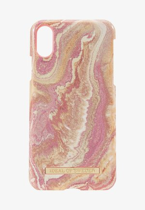 FASHION CASE - Phone case - gold/blush
