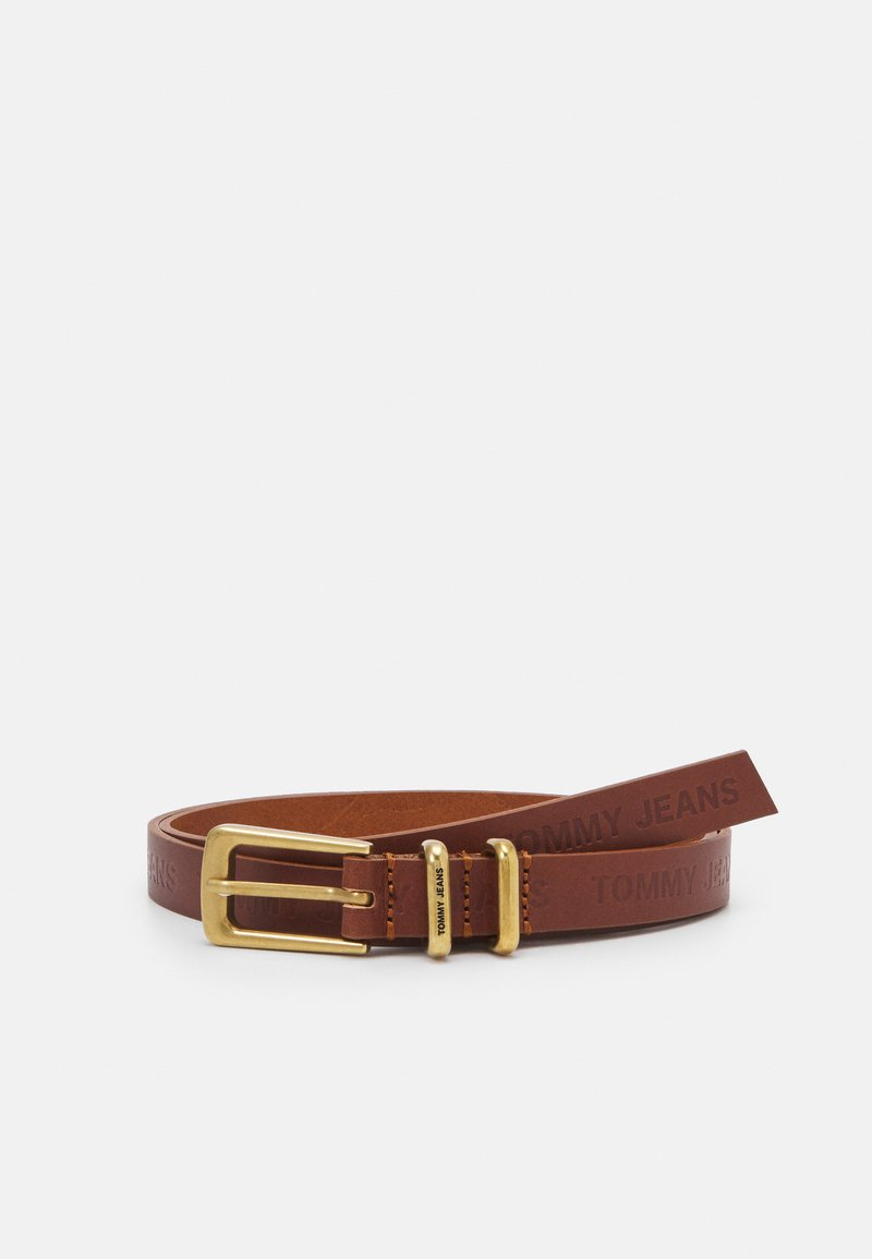 Tommy Jeans - ESSENTIAL BELT - Cinturón - brown