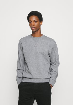 SLHJASON CREW NECK - Sweatshirt - medium grey melange
