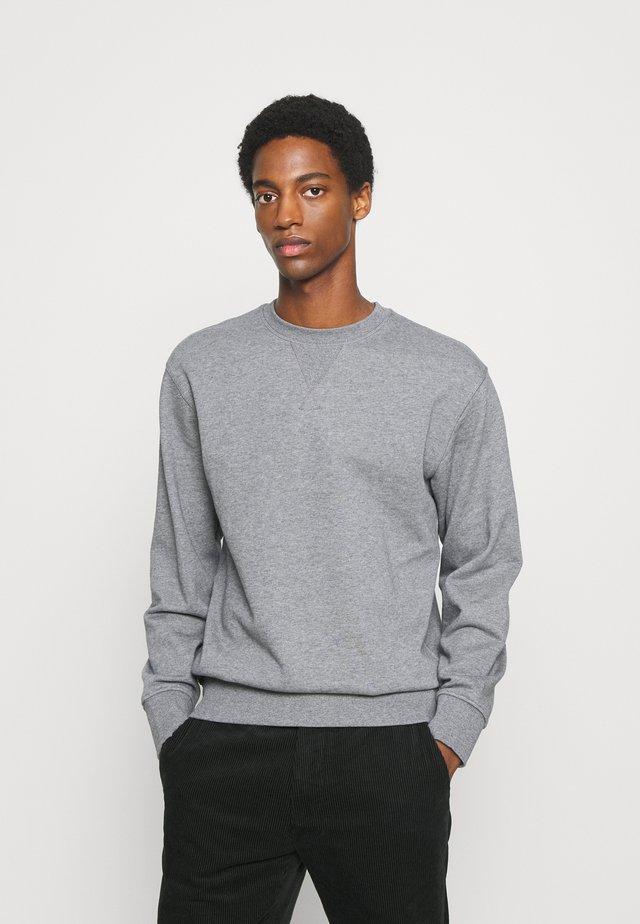 SLHJASON CREW NECK - Sweater - medium grey melange