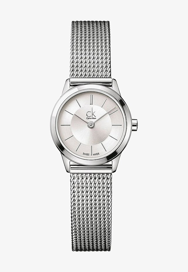 MINIMAL LADY - Watch - silver-coloured/white