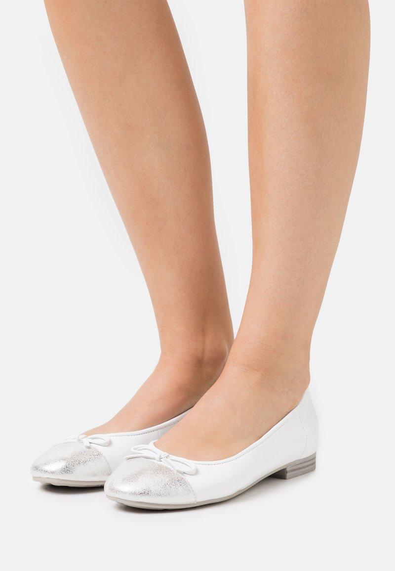 Jana - Ballerinat - white
