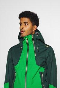 CMP - MAN JACKET HOOD - Ski jas - green - 3