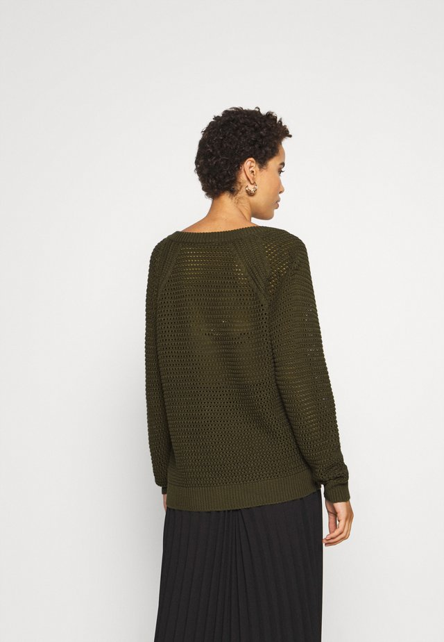 KAJOLAN - Pullover - grape leaf