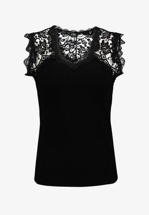MLINA - Top - noir
