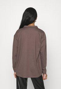 Missguided - POCKET DETAIL - Skjorte - brown - 2