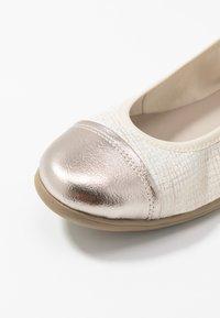Jana - Ballet pumps - gold - 2