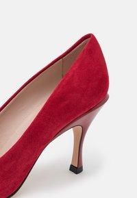 HUGO - TONIC - Classic heels - dark red - 6