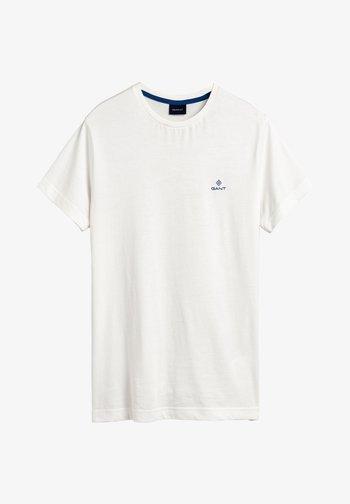 CONTRAST - T-paita - off white