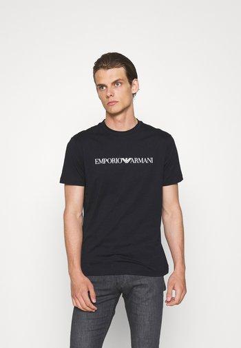 Print T-shirt - blu navy