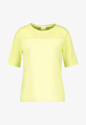 MIT CHIFFONBESATZ - Basic T-shirt - light lime