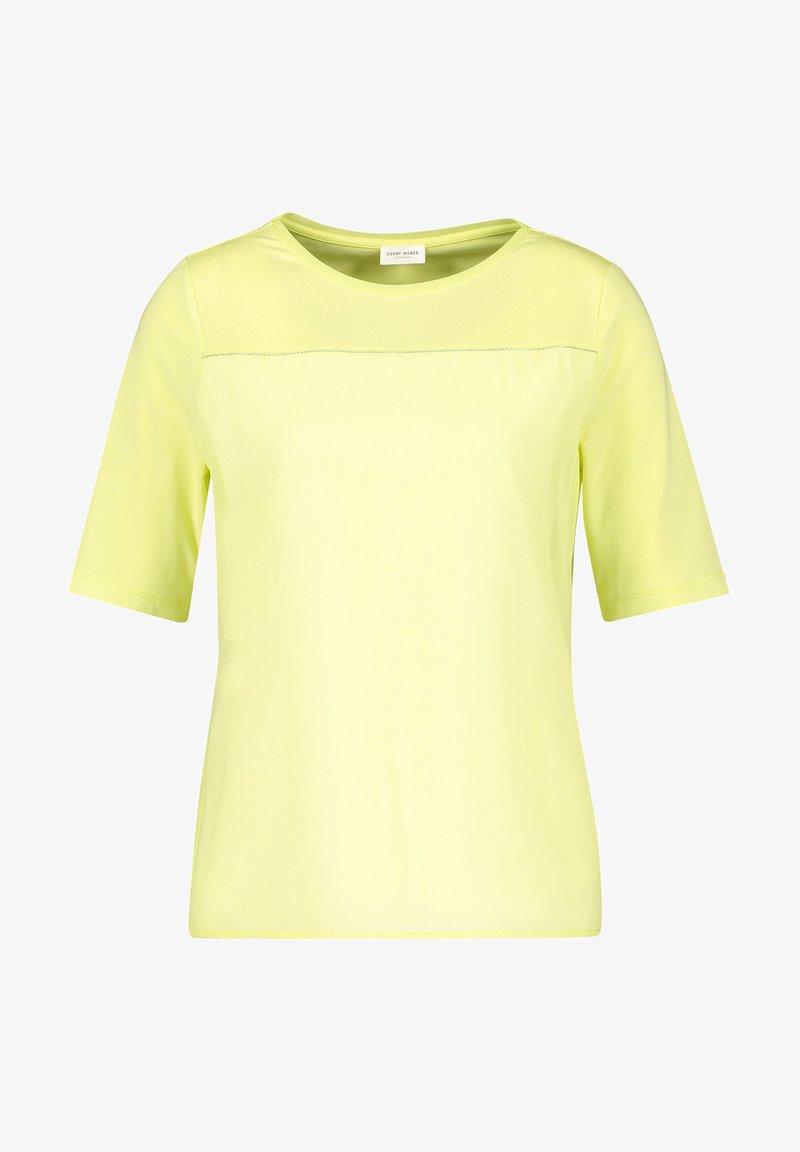 Gerry Weber - MIT CHIFFONBESATZ - Basic T-shirt - light lime