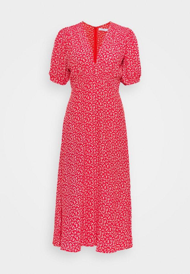 SONJA MIDI DRESS - Vestito estivo - maddy vintage red