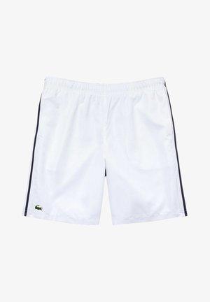 GH2105 - Short de sport - blanc  bleu