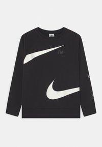 Nike Sportswear - CREW - Sweatshirt - black/white - 0