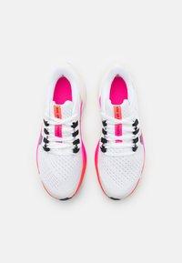 Nike Performance - AIR ZOOM PEGASUS 38  - Zapatillas de running neutras - white/black/football grey/pink blast - 3