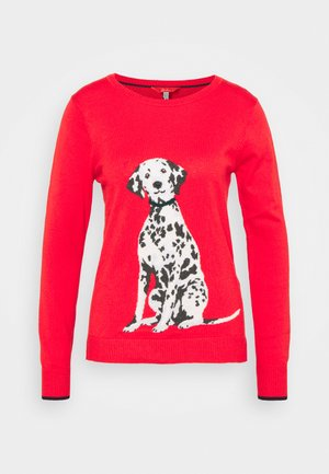 MIRANDA - Jumper - red