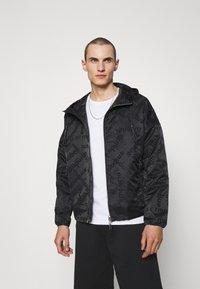 Emporio Armani - BLOUSON JACKET - Summer jacket - black - 0