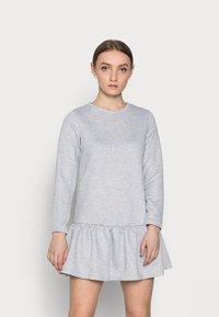 New Look Petite - DROP HEM DRESS - Day dress - grey niu - 0