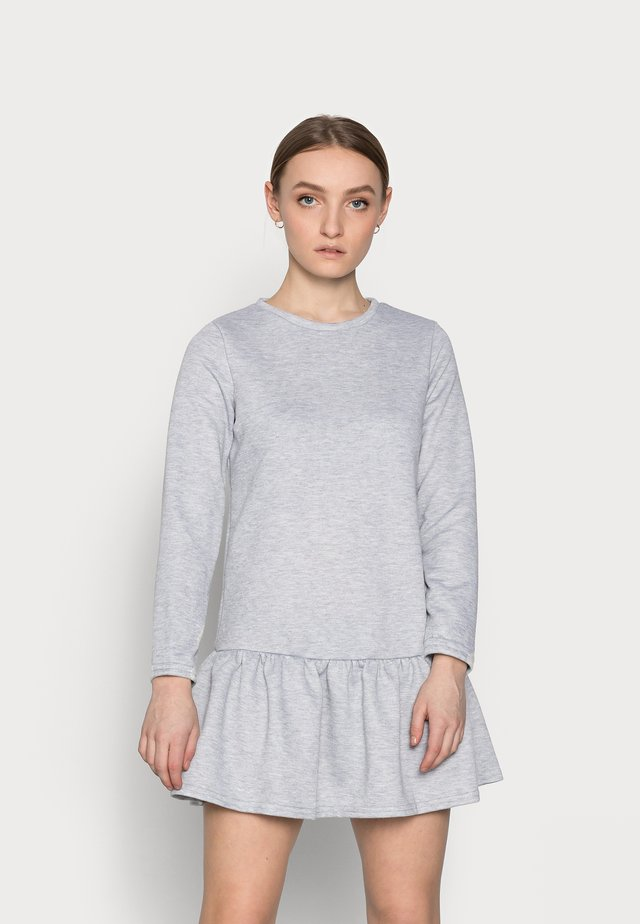 DROP HEM DRESS - Kjole - grey niu