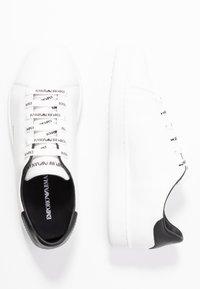 Emporio Armani - Trainers - white/black - 3