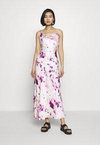 Bardot - TIE DYE SLIP DRESS - Maxi dress - purple - 0