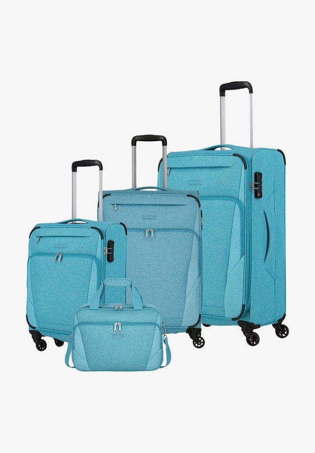 4 SET - Luggage set - türkis