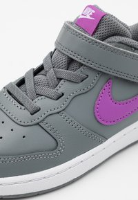 Nike Sportswear - COURT BOROUGH 2 - Trainers - smoke grey/purple/watermelon/white - 5