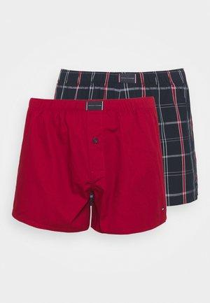 2 PACK - Boxer shorts - regatta red