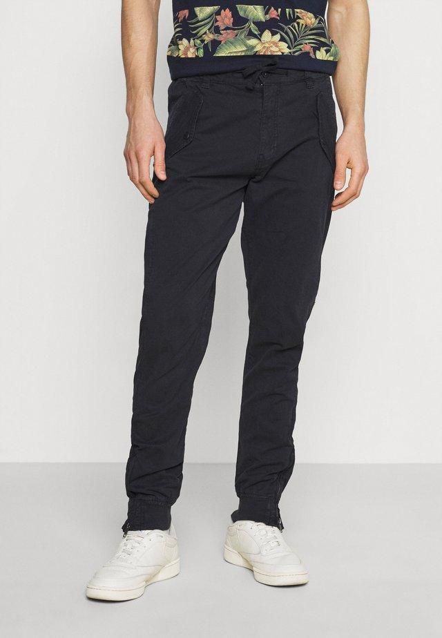 TODD - Kalhoty - black