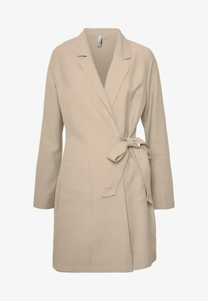 WRAP SUIT DRESS - Sukienka letnia - beige