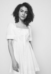 Pinko - ASSOLTO ABITO PESANTE - Day dress - white - 3
