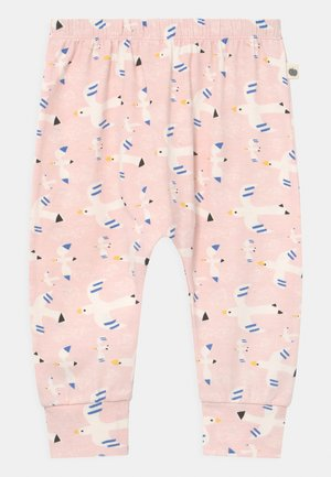 PALM HAREEM - Trousers - white/pink