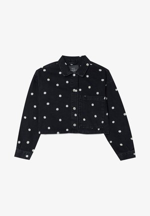MIT MARGERITEN - Denim jacket - black