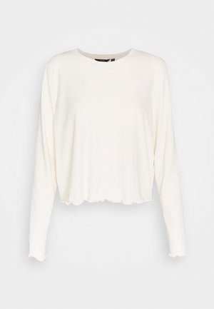 VMBREA CROPPED - Long sleeved top - birch