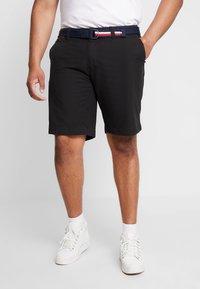Tommy Hilfiger - BROOKLYN BELT - Shorts - black - 0