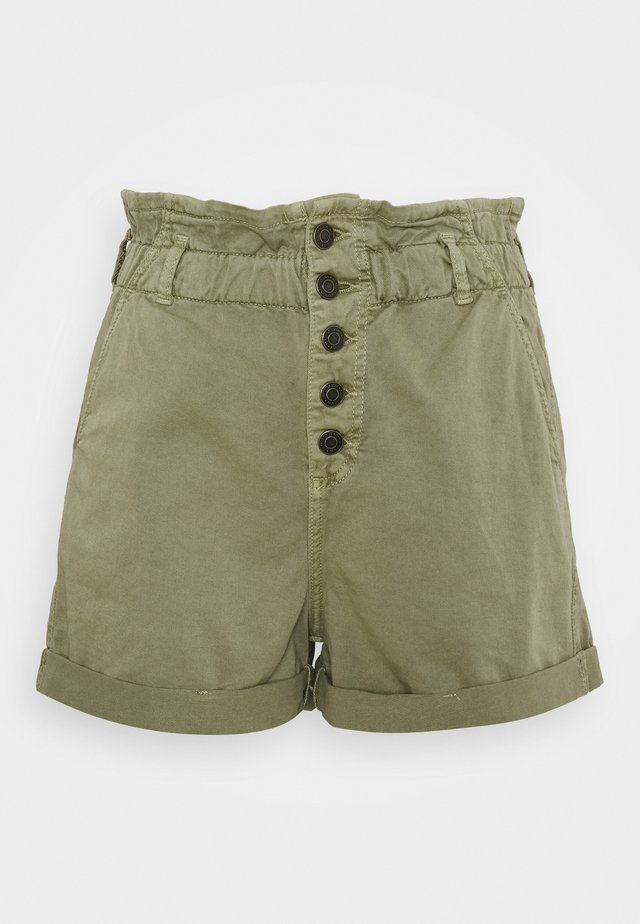 TAYLOR - Shorts - green washed down