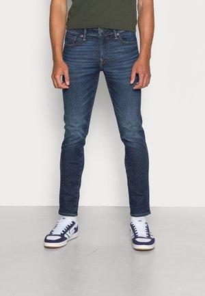 SKINNY - Jeans slim fit - deep sea blue