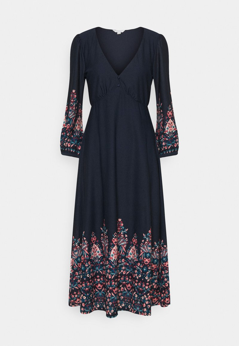 Springfield - VESTIDO MIDI CENFA - Maxi dress - medium blue