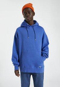 PULL&BEAR - Hoodie - dark blue - 0