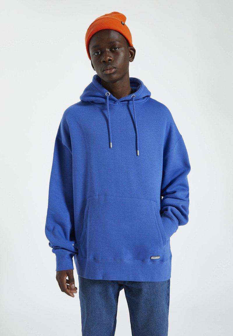 PULL&BEAR - Hoodie - dark blue