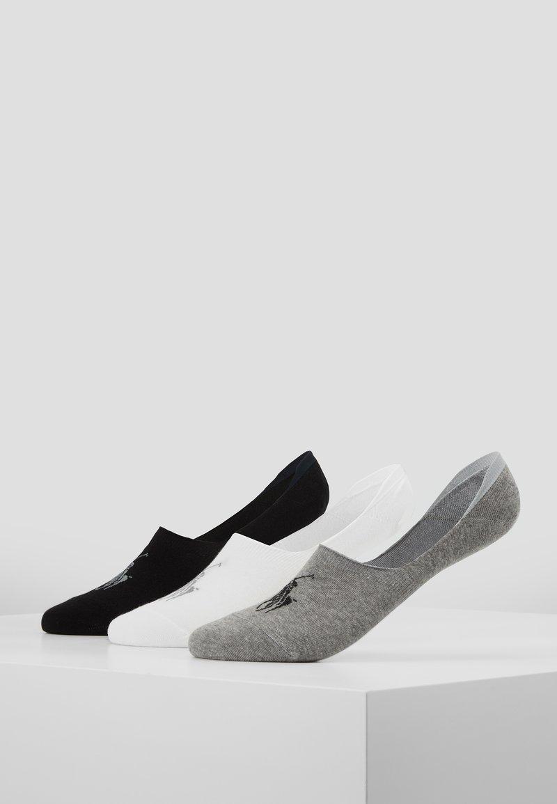 Polo Ralph Lauren - LINER NO SHOW 3 PACK - Trainer socks - black/white