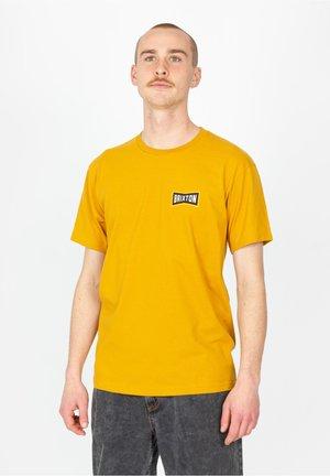 TRUSS - T-shirt print - antique gold