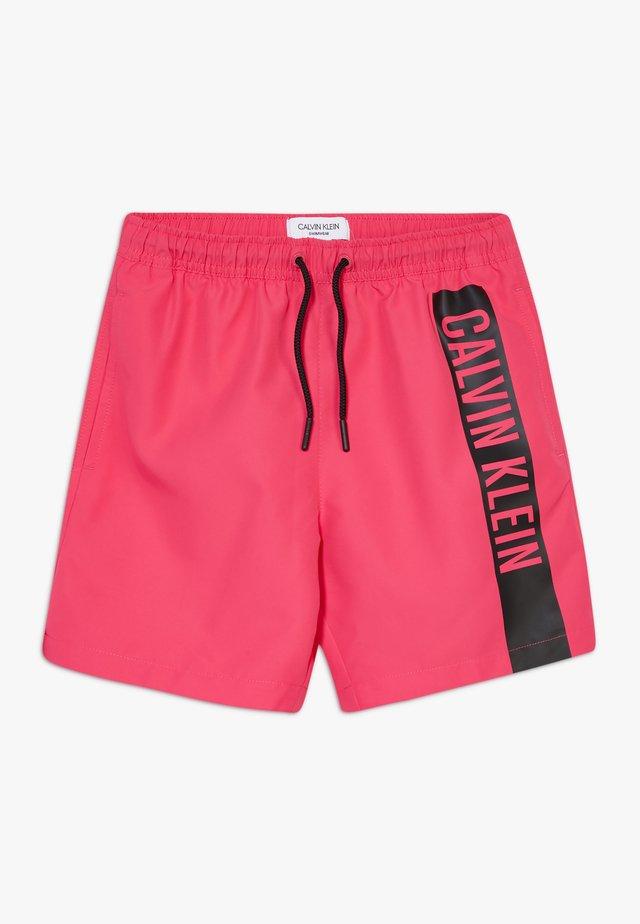 MEDIUM DRAWSTRING INTENSE POWER - Szorty kąpielowe - pink
