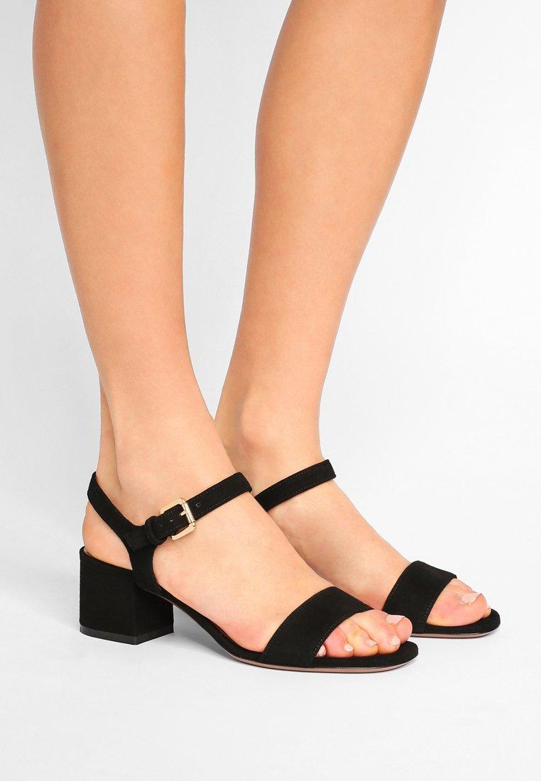 L'Autre Chose - MID HEEL - Sandals - nero