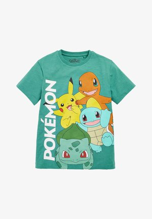 POKEMON - Print T-shirt - green