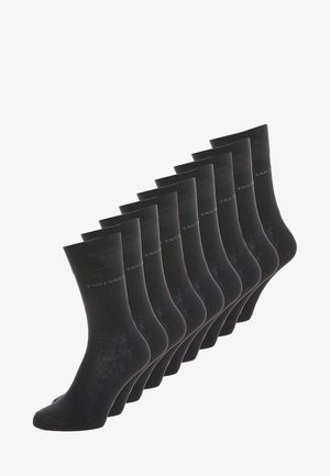 BASIC 9 PACK - Strumpor - black