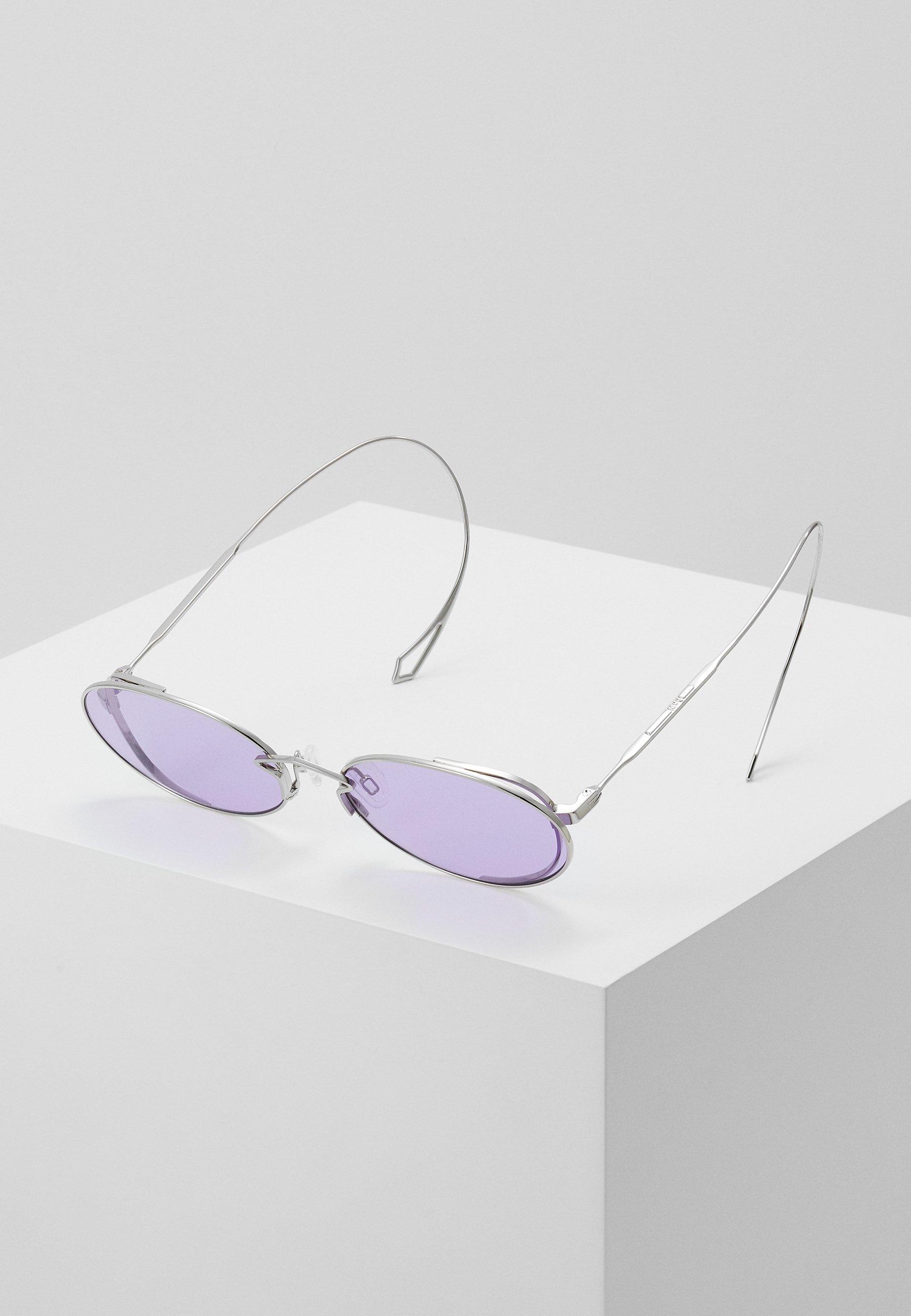 Cena fabryczna Gorąca wyprzedaż McQ Alexander McQueen Okulary przeciwsłoneczne - silver-coloured/violet | Akcesoria damskie 2020 DCXnO
