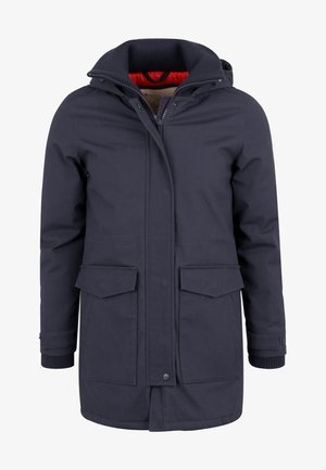 ANIAK - Parka - mottled dark blue