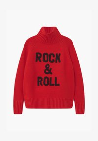 Zadig & Voltaire - POLO NECK - Trui - bright red - 0